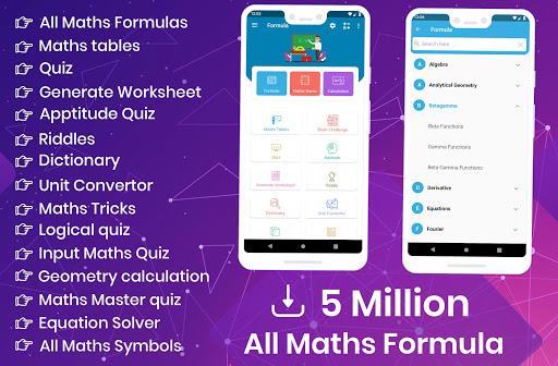 All Maths Formulas 1.25 screenshots 1