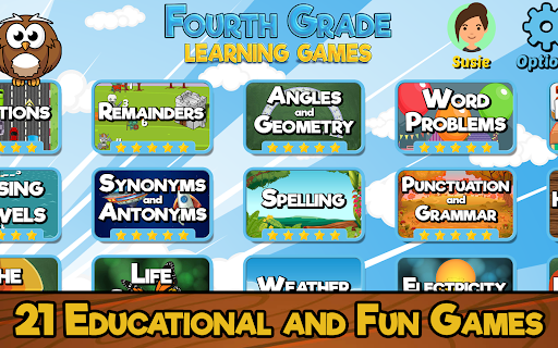 Fourth Grade Learning Games screenshots 1