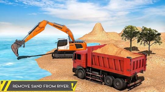 Sand Excavator Offroad Crane Transporter 4