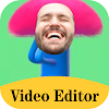 Add Face To Video, Funny Face Changer Video Maker