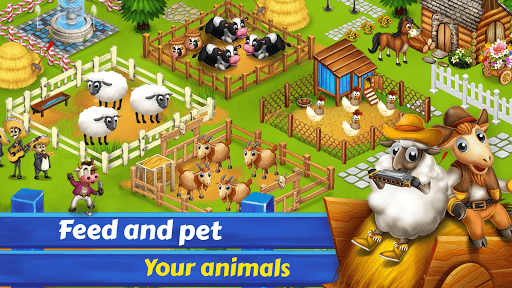 Big Little Farmer Offline Farm- Free Farming Games modavailable screenshots 3