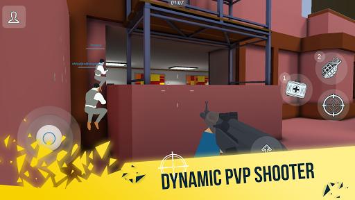 Télécharger Mental Gun 3D: Pixel FPS Shooter mod apk screenshots 1