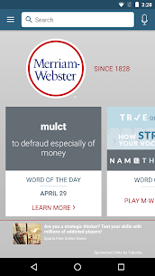Dictionary – Merriam-Webster 1