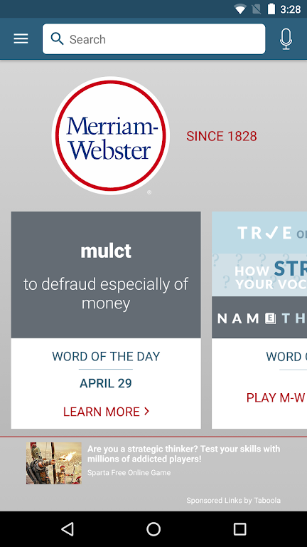Dictionary - Merriam-Webster  poster 0
