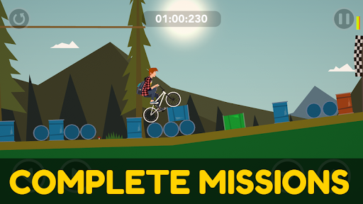 Draw Rider 2 Free - happy bike racing games screenshots 5