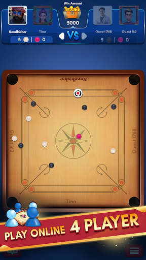 Carrom Kingu2122 - Best Online Carrom Board Pool Game 3.1.0.74 screenshots 2