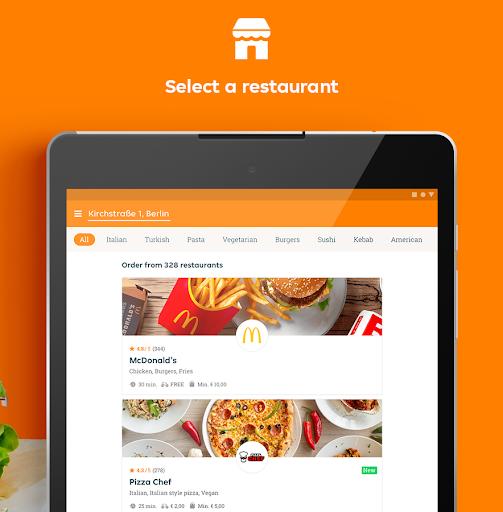 Lieferando.de - Order Food 6.25.0 Screenshots 14