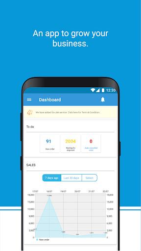 blibli seller app screenshot 2