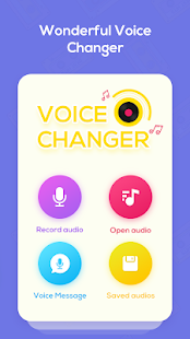 Voice Changer Voice Recorder - Editor & Effect Screenshot