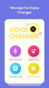 Voice Changer Voice Recorder - Editor & Effect