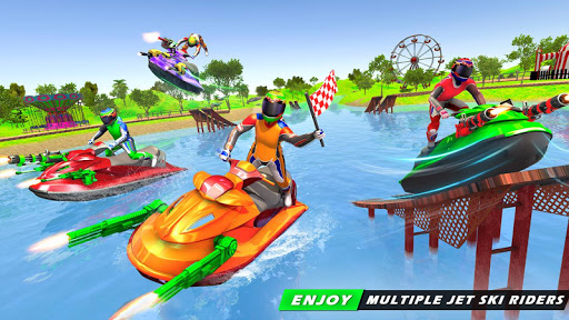 Jet Ski Racing Games: Jetski Shooting - Boat Games 1.0.16 Screenshots 1