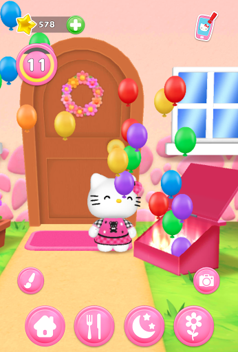 Talking Hello Kitty - Virtual pet game for kids screenshot 1