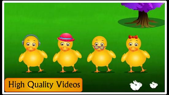 Kids Top Nursery Rhymes Videos - Offline Learning FiveLittle_v7.1 Screenshots 9