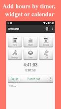 Timesheet - Time Card - Work Hours - Work Log screenshot thumbnail