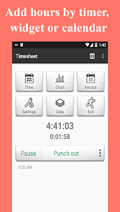 Timesheet  Time Card For Pc – How To Install On Windows 7, 8, 10 And Mac Os 1