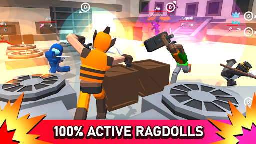 Télécharger Smashgrounds.io: Bataille de Ragdoll APK MOD (Astuce) screenshots 1