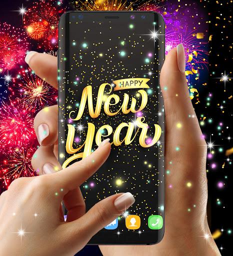 Happy new year 2021 live wallpaper 16.6 Screenshots 3