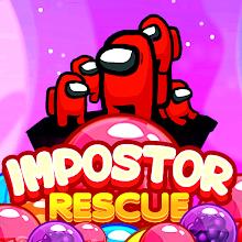 Imposter Rescue : Pop bubble shooter APK