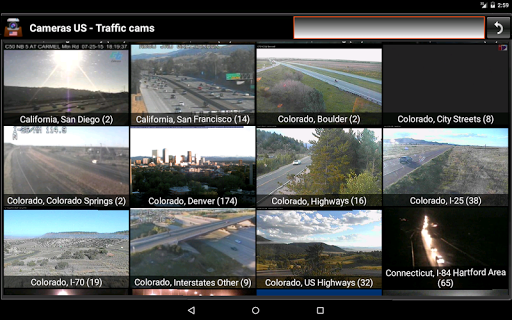Cameras US - Traffic cams USA 8.6.2 screenshots 11