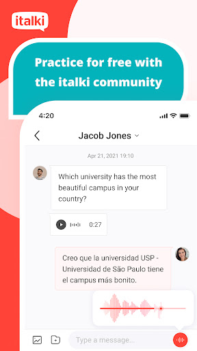 italki: Learn languages with native speakers  screenshots 3