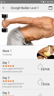FitnessBuilder Screenshot
