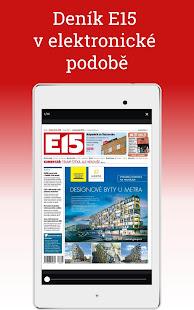 E15: zprávy a události