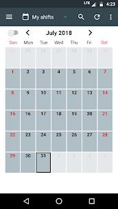 Shift Calendar MOD Apk 1.8.9 (Unlimited Money) 1