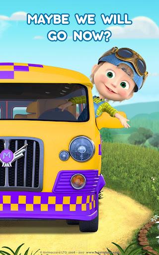 Masha and the Bear: Climb Racing and Car Games apkslow screenshots 16