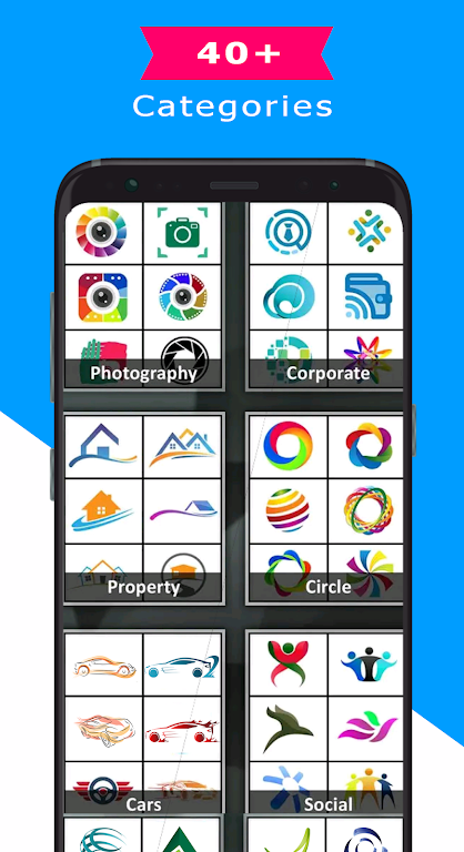 Logo Maker - Logo Creator, Generator & Designer poster 3