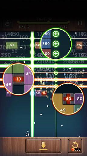 Swipe Brick Breaker: The Blast apkpoly screenshots 3