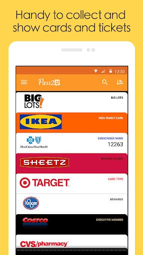 Pass2U Wallet - store cards, coupons, & barcodes 2.12.5 Screenshots 5
