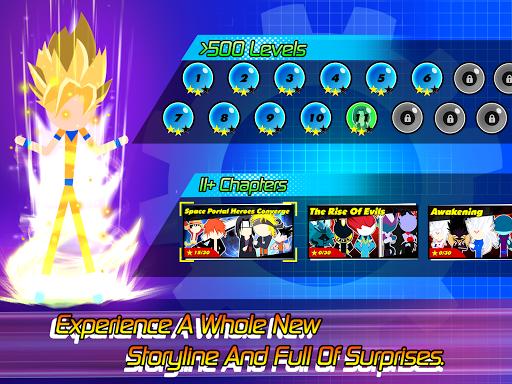 Super Stick Fight All-Star Hero: Chaos War Battle modavailable screenshots 20