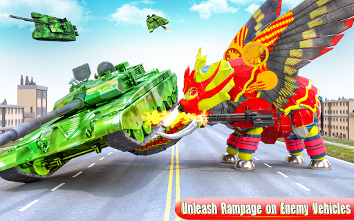 Flying Monster Truck Transform Elephant Robot Game 2.0.9 Screenshots 4
