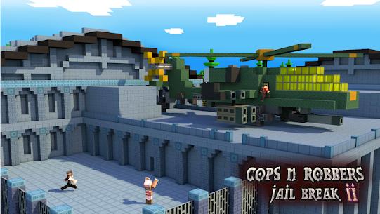 Cops N Robbers: 3D Pixel Prison Games 2 7