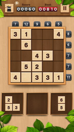 TENX - Wooden Number Puzzle Game  screenshots 5