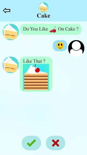fake call and sms cake game  screenshots 2