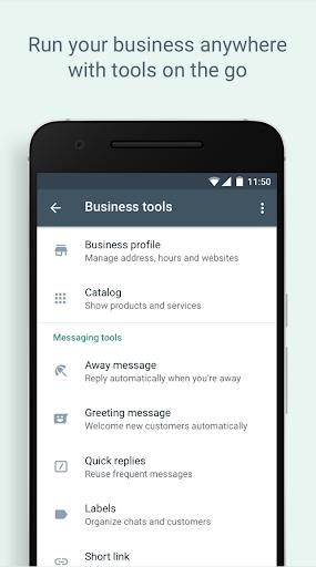 WhatsApp Business Apkfinish screenshots 5