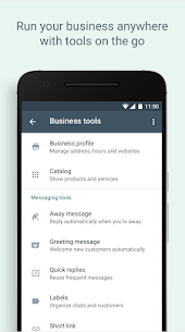Download the WhatsApp Business APK application for mobile 4