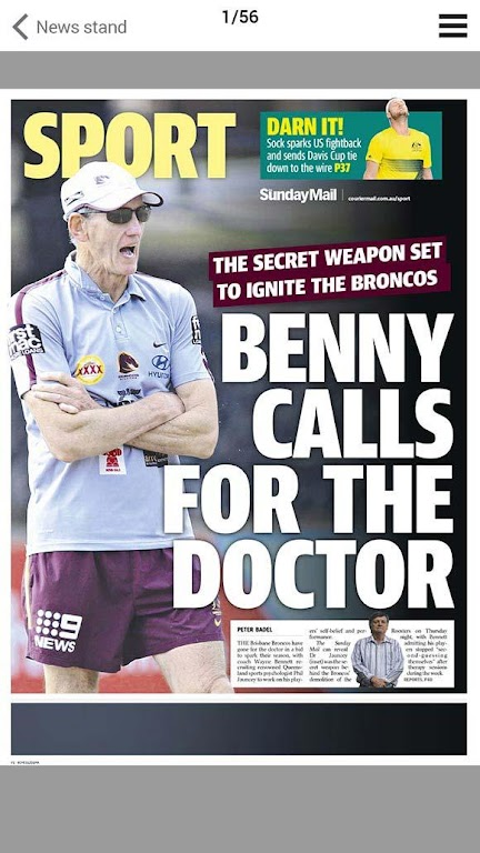 The Courier-Mail  poster 4