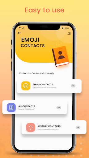 Emoji Contacts : Add Emojis To Contacts android2mod screenshots 3