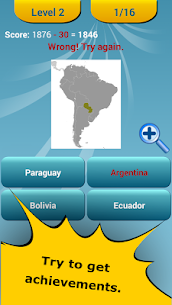 Countries Location Maps Quiz 4
