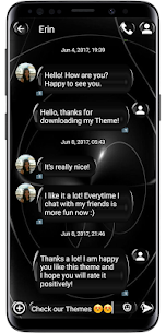 SMS Theme Black Sphere For Pc – Windows 7, 8, 10 & Mac – Free Download 1