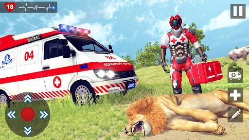 Animals Rescue Game Doctor Robot 3D  screenshots 14