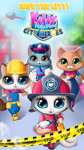 Kitty Meow Meow City Heroes - Cats to the Rescue! 4.0.21003 screenshots 1