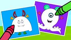 子供用 塗り絵ゲーム - お絵かき&塗り絵ブックのおすすめ画像5