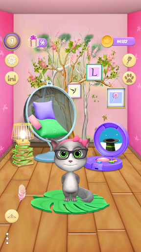 My Cat Lily 2 - Talking Virtual Pet apklade screenshots 2