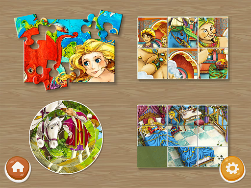 Princess Puzzles and Painting apkpoly screenshots 2