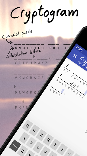 Cryptogram - word puzzles 1.15.12 screenshots 1