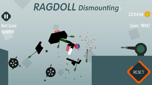 Ragdoll Dismounting 1.58 screenshots 2