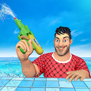 Water Shooting Nurf Battle Arena